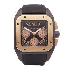 Cartier Santos 100 Chronograph Titanium - 3104