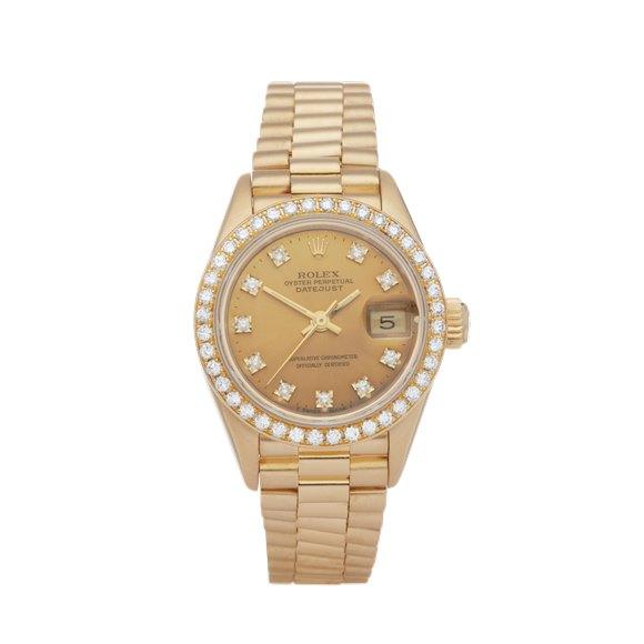 Rolex Datejust 26 Diamond 18K Yellow Gold - 69138