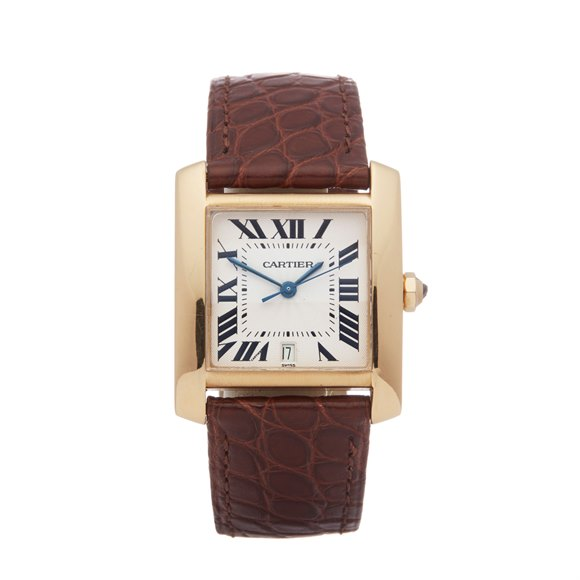 Cartier Tank Francaise 18K Yellow Gold - 1840