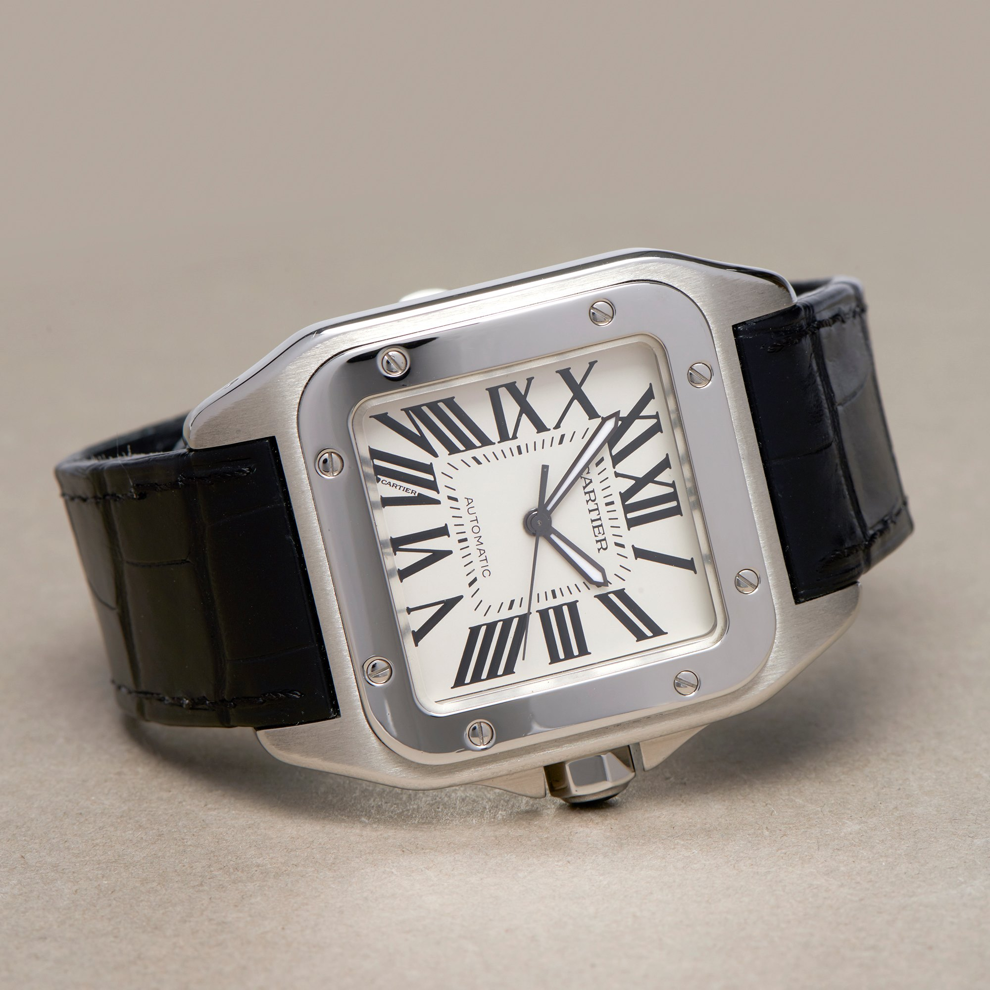 Cartier Santos 100 Stainless Steel 2656 or W20073X8