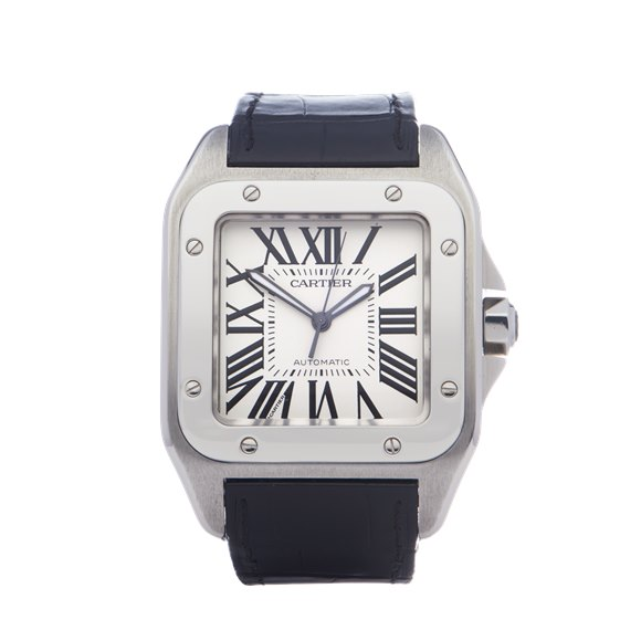 Cartier Santos 100 Stainless Steel - 2656 or W20073X8