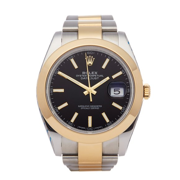 Rolex Datejust 41 Service Stickers Stainless Steel & Yellow Gold - 126303