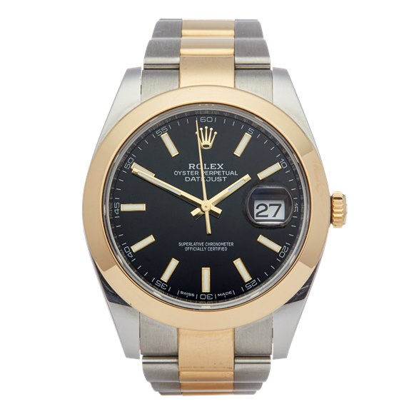 Rolex Datejust 41 Stainless Steel & Yellow Gold - 126303