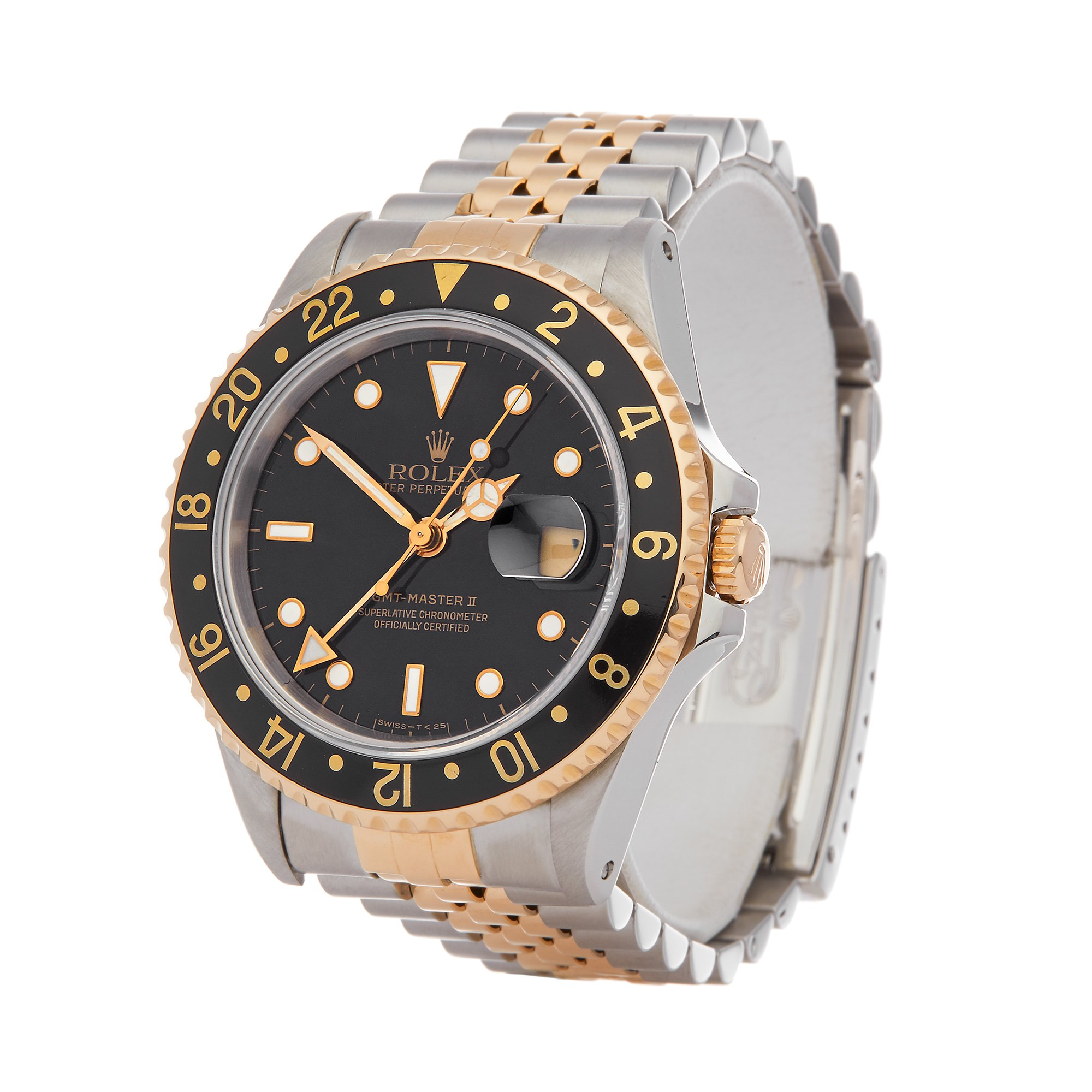 Rolex GMT-Master II Stainless Steel & Yellow Gold 16713