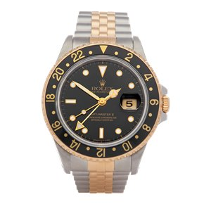 Rolex GMT-Master II Stainless Steel & Yellow Gold - 16713