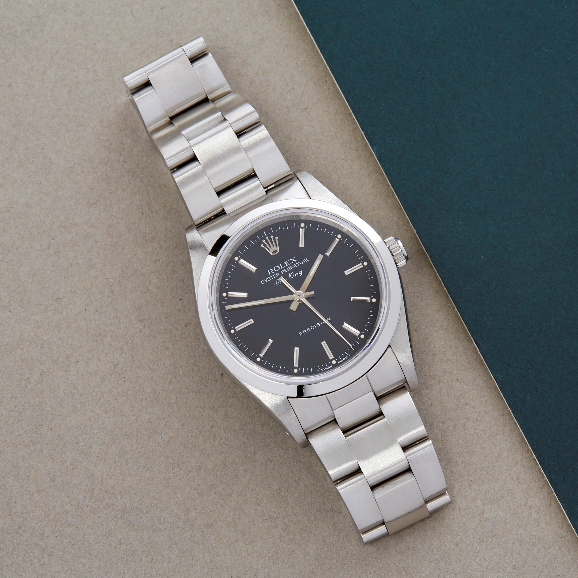 Rolex Air-King Stainless Steel 14000