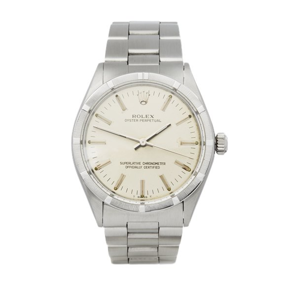 Rolex Oyster Perpetual 34 Stainless Steel - 1007