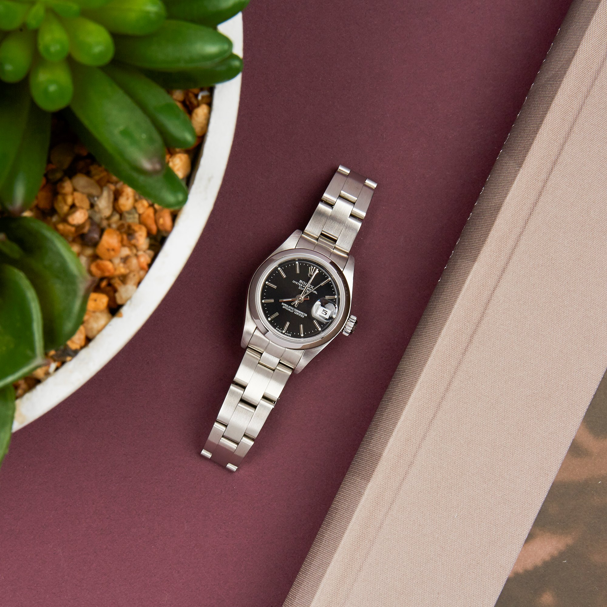 Rolex Oyster Perpetual Date Stainless Steel 79160