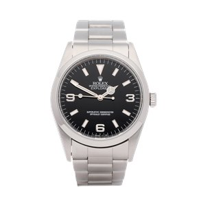 Rolex Explorer I 'T serial' Punched Papers Stainless Steel - 14270