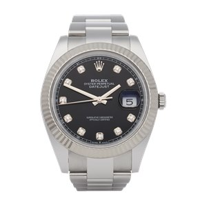 Rolex  41 Stainless Steel & White Gold