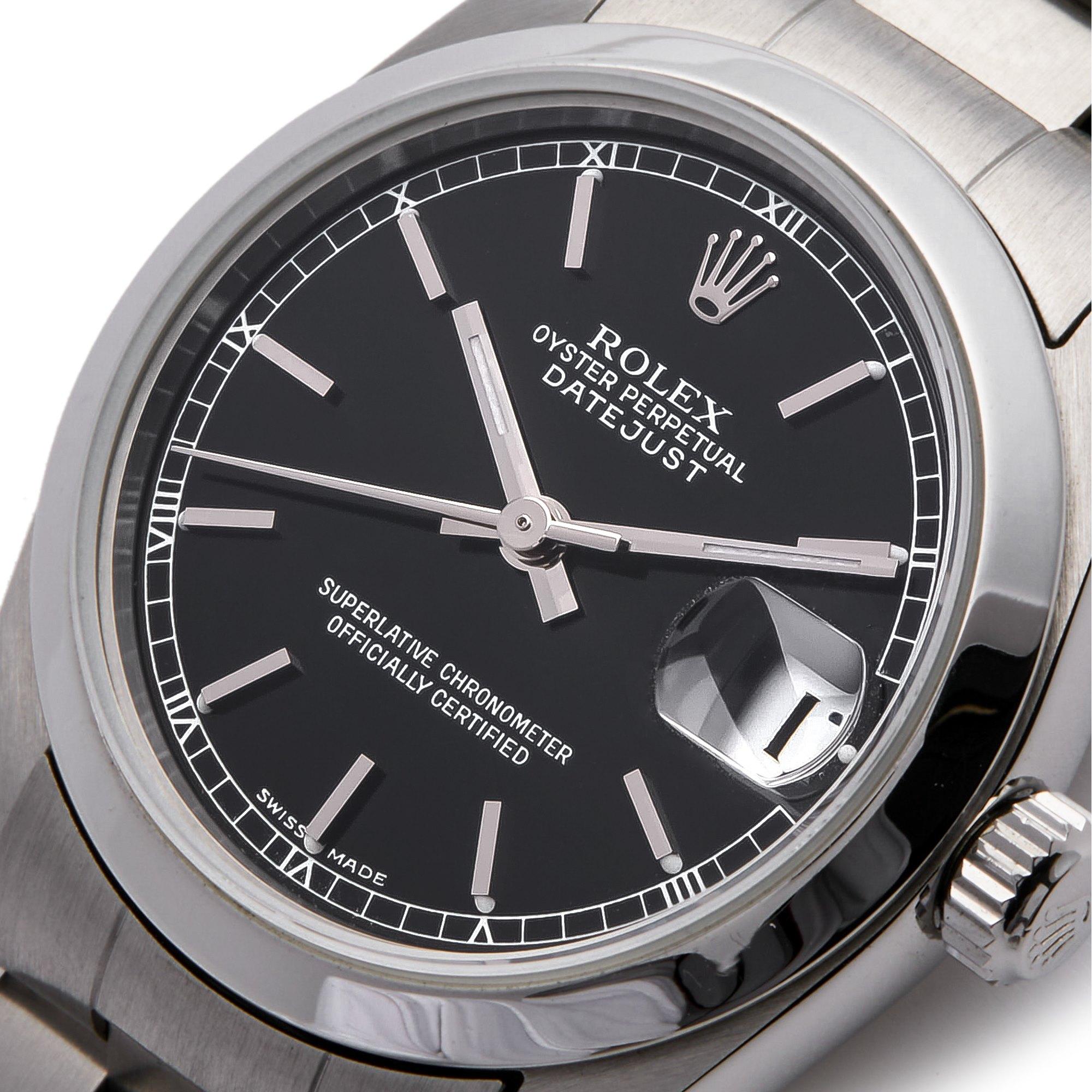 Rolex Datejust 31 Stainless Steel 78240