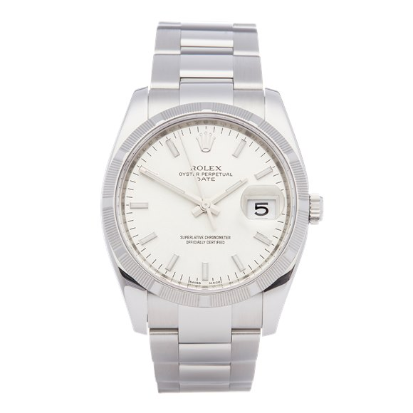 Rolex Oyster Perpetual Date Stainless Steel - 115210