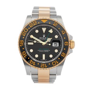 Rolex GMT-Master II 18K Yellow Gold & Stainless Steel - 116713LN