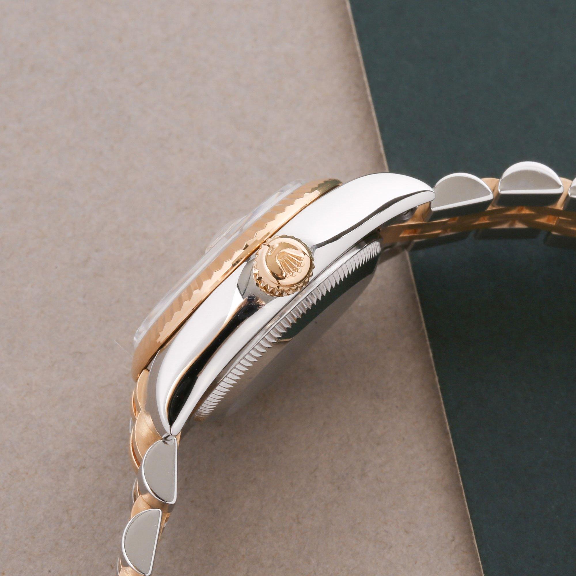 Rolex Datejust 26 Diamond Stainless Steel & Yellow Gold 179173G