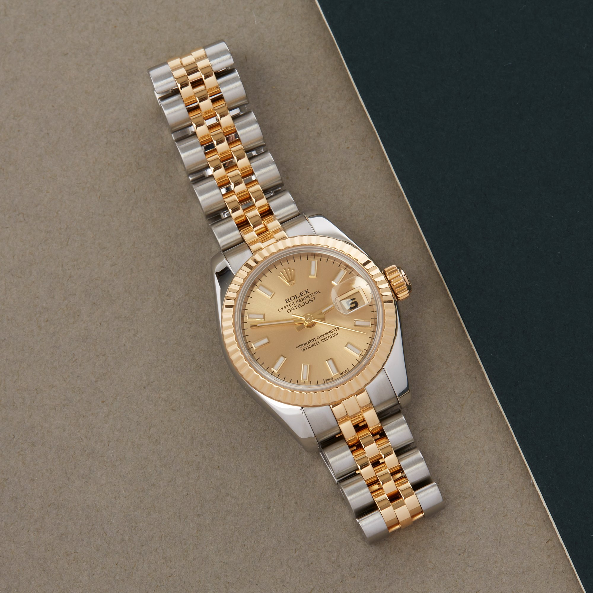 Rolex Datejust 26 Stainless Steel & Yellow Gold 179173