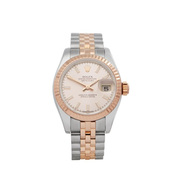 Rolex Datejust 26 14K Rose Gold & Stainless Steel - 179171