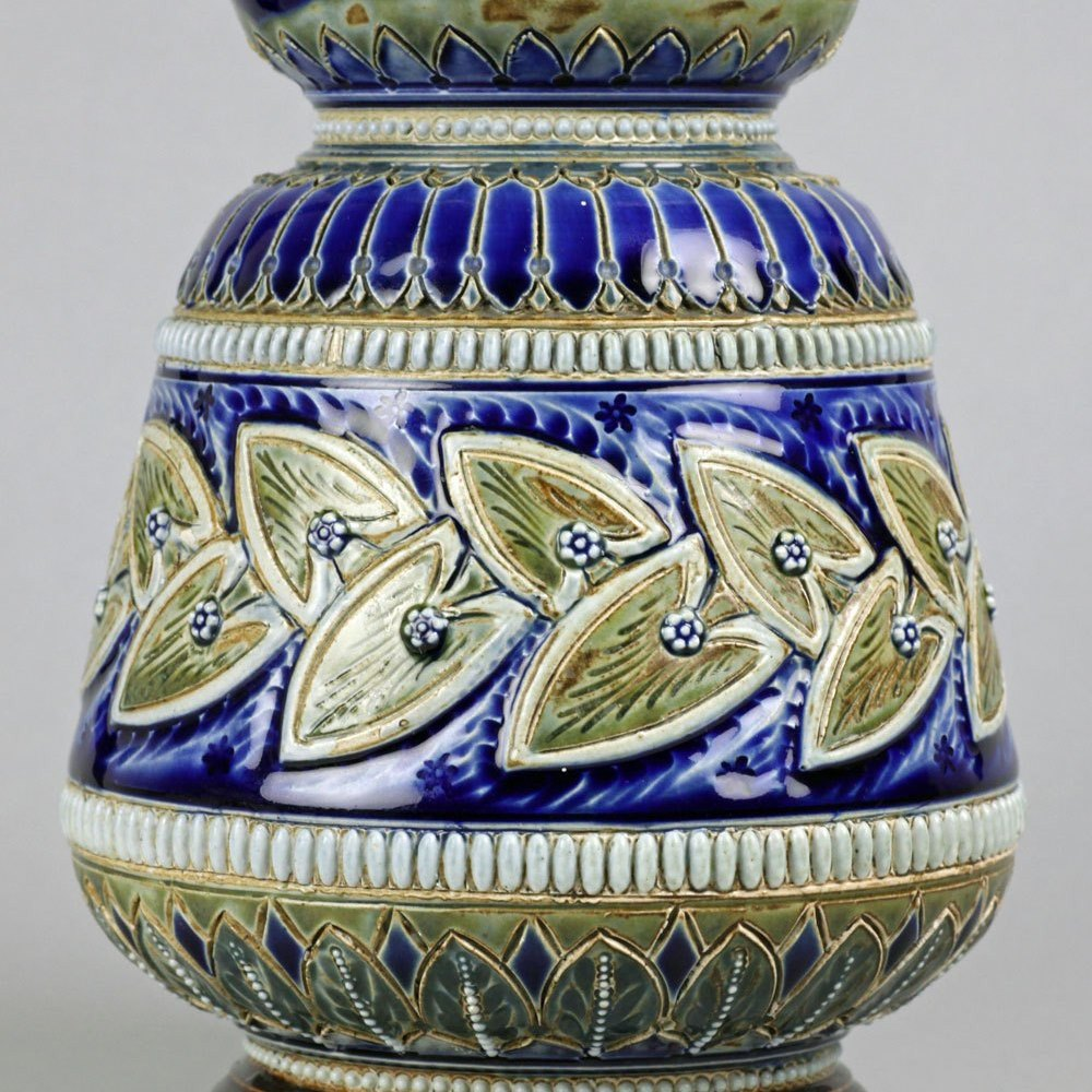 DOULTON LAMBETH VASE Dated 1880