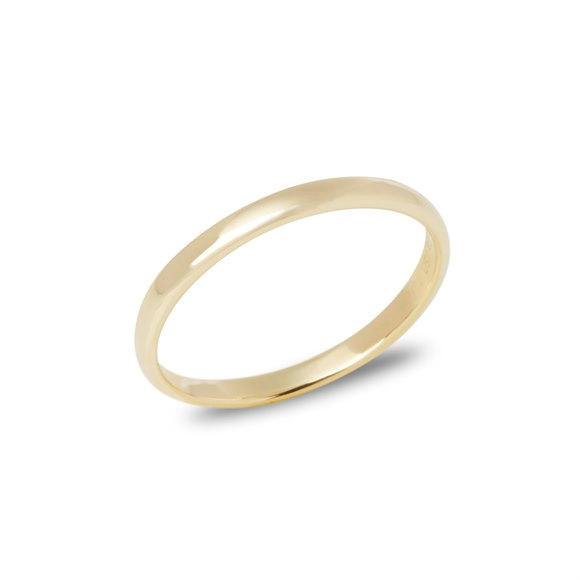 Tiffany & Co. 18k Yellow Gold 2.03mm Court Wedding Band