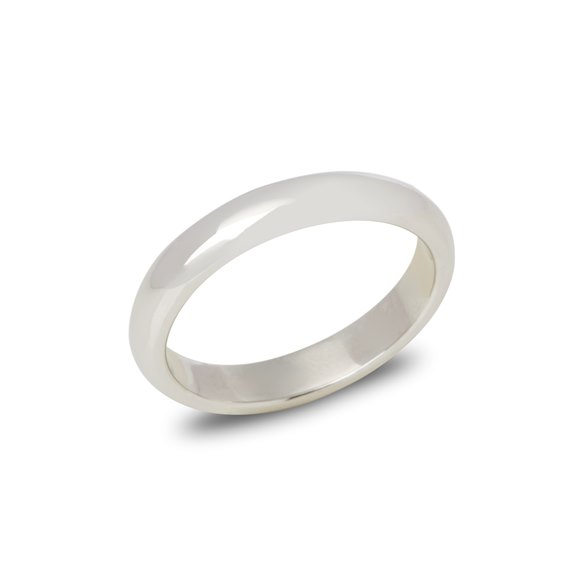 Cartier Platinum 4.03mm Court Wedding Ring