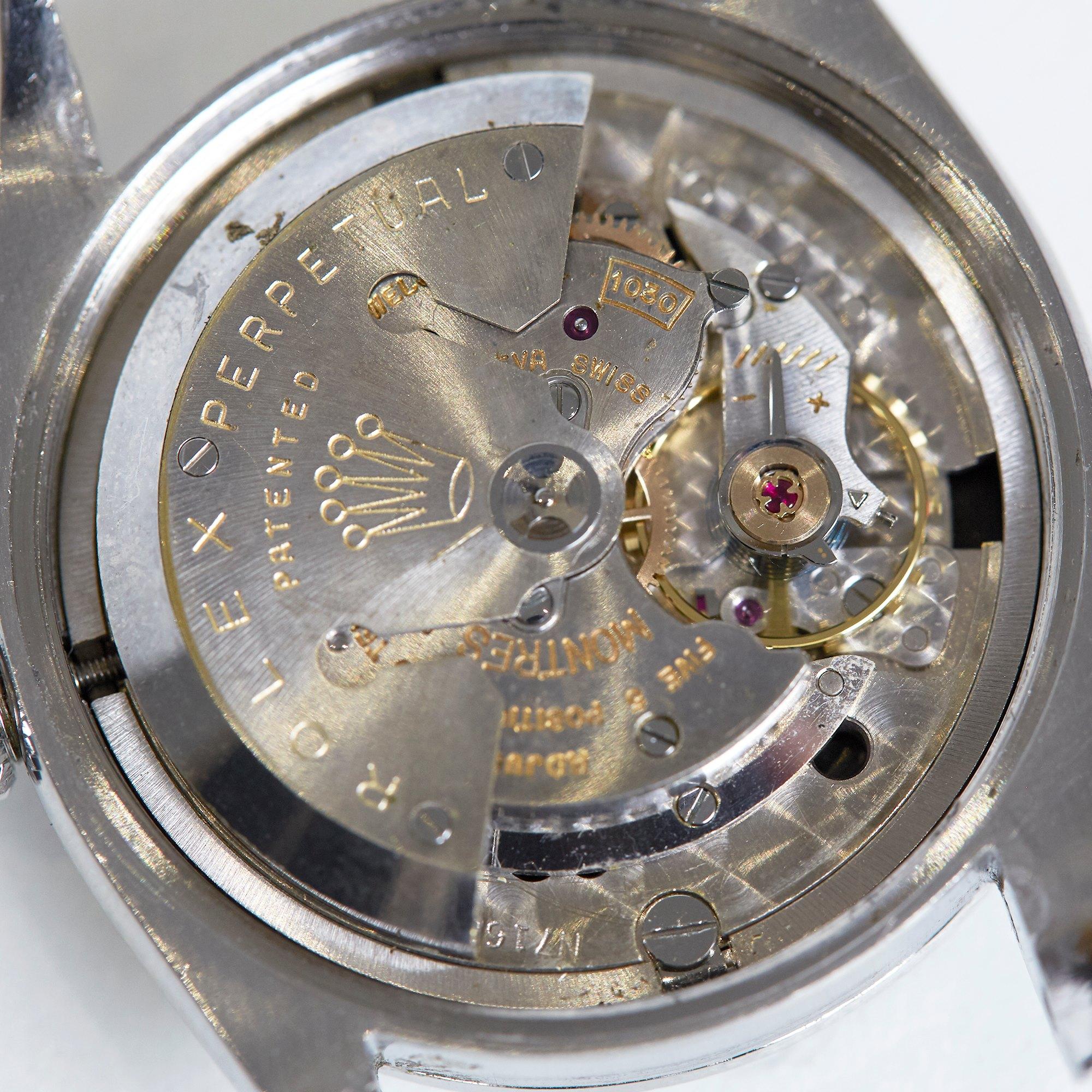 Rolex Explorer I Gilt Stainless Steel 6610