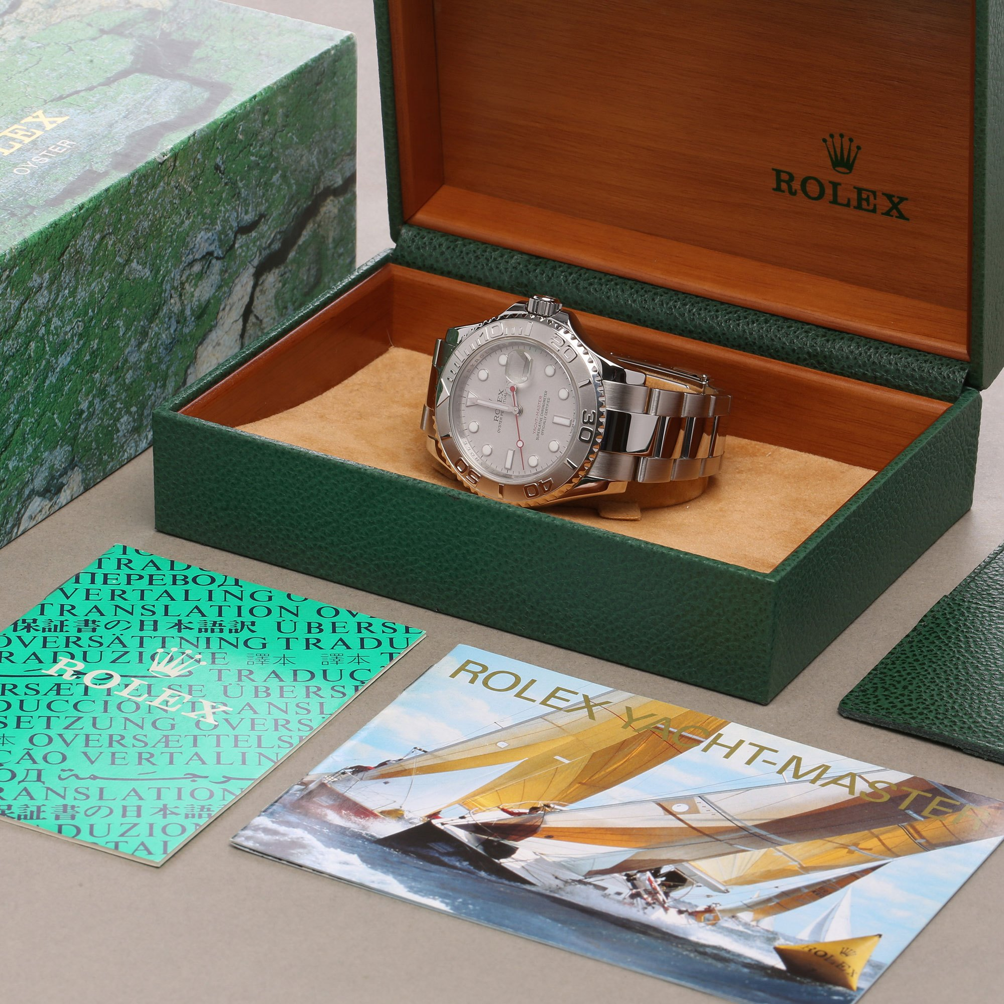 Rolex Yacht-Master 40 Stainless Steel 16622