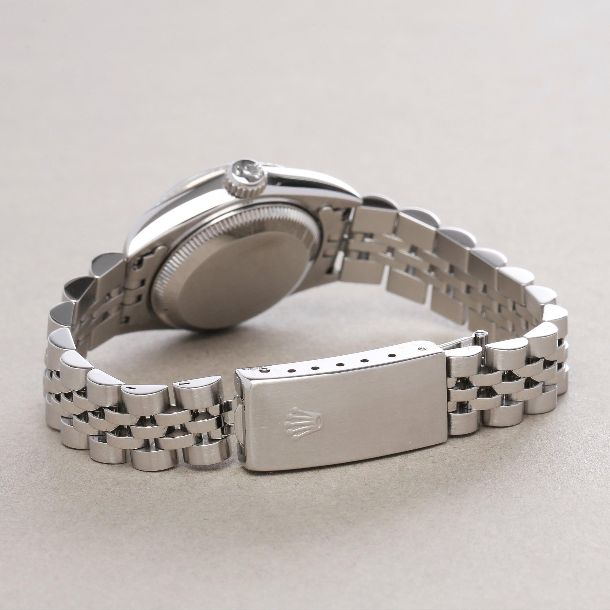 Rolex Datejust 26 Diamond Roestvrij Staal 69174G