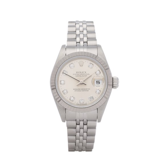 Rolex Datejust 26 Diamond Stainless Steel - 69174G