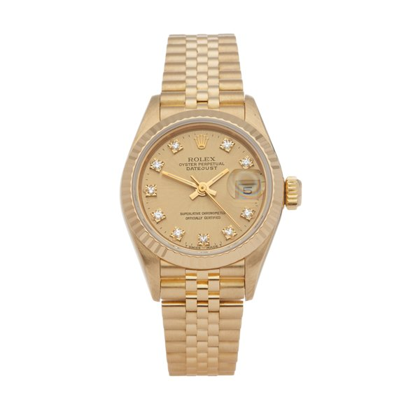 Rolex Datejust 26 Diamond 18K Yellow Gold - 69178G