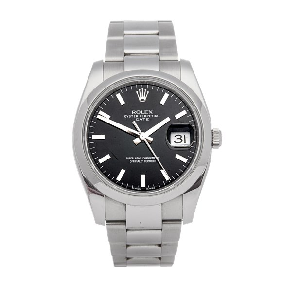 Rolex Oyster Perpetual Date Stainless Steel - 115200