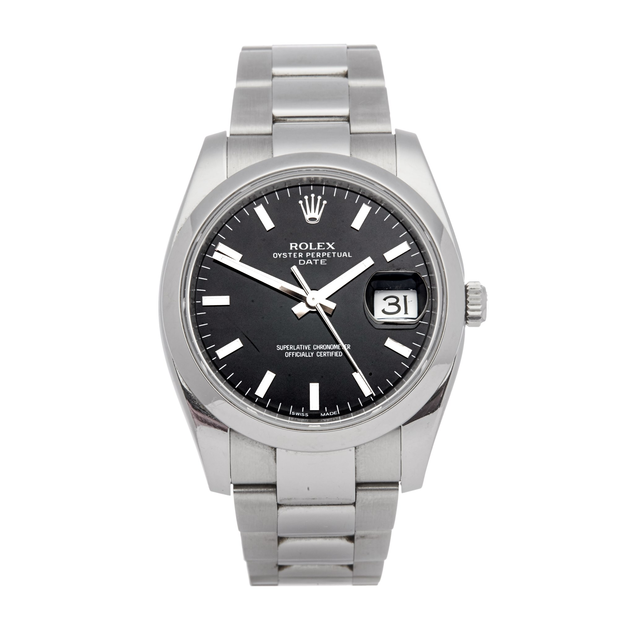 Rolex Oyster Perpetual Date Stainless Steel 115200
