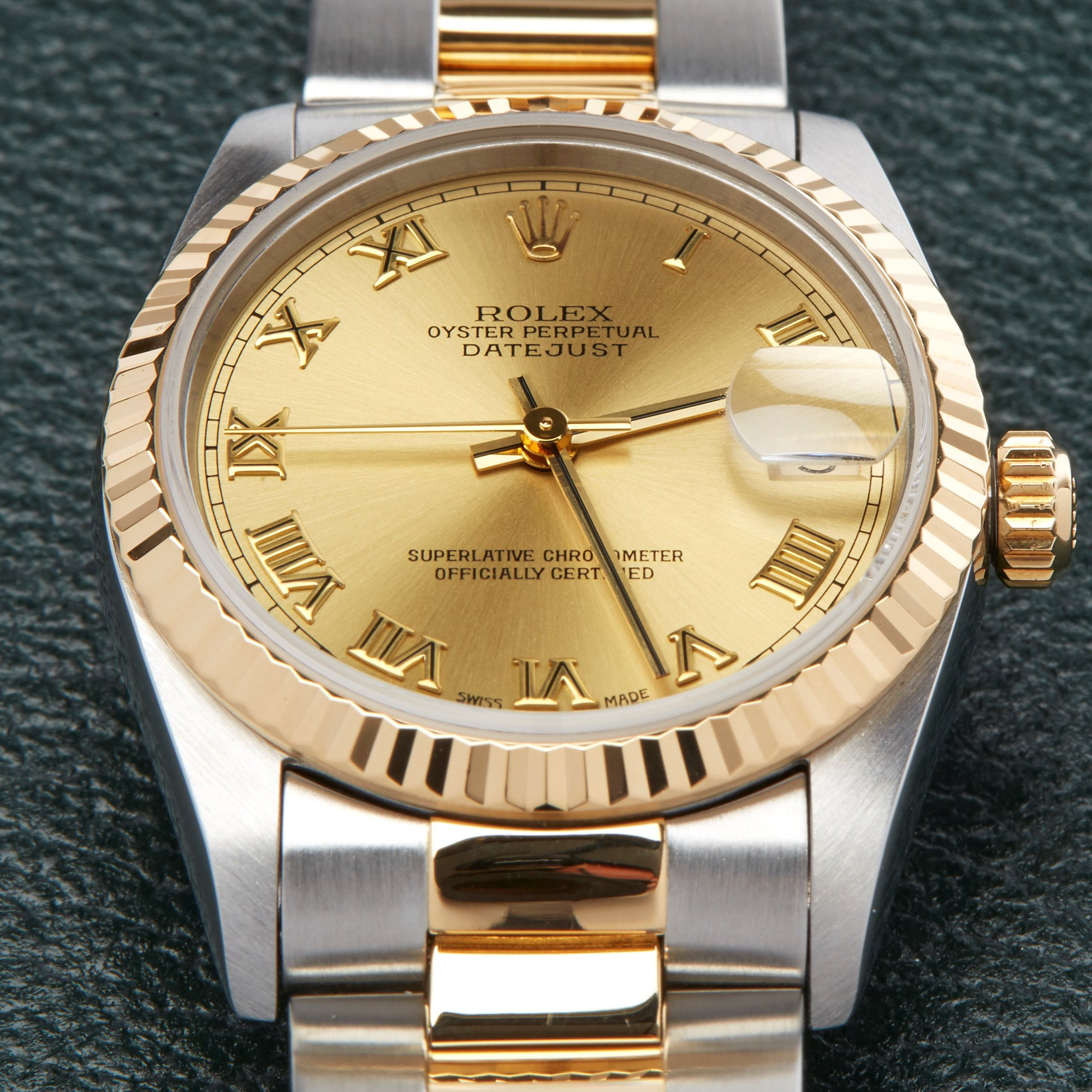 Rolex Datejust 31 18K Stainless Steel & Yellow Gold 68273
