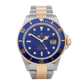 Rolex Submariner Date 18K Yellow Gold & Stainless Steel - 16613