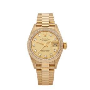 Rolex  26 18K Geel Goud