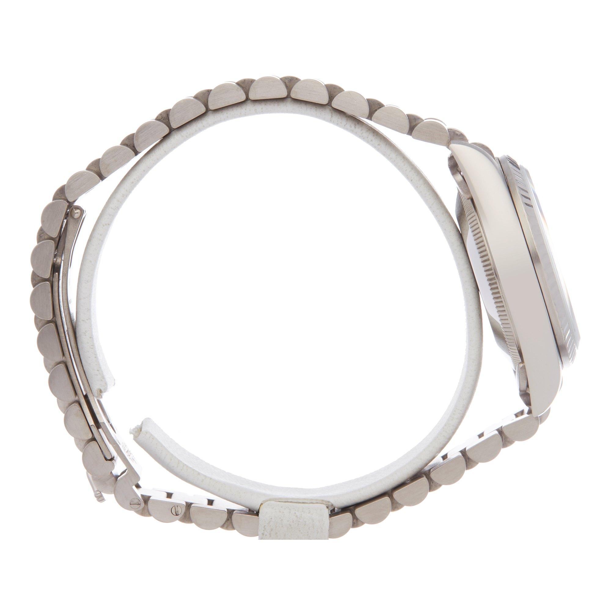 Rolex Datejust 31 Diamond 18K Wit Goud 68279