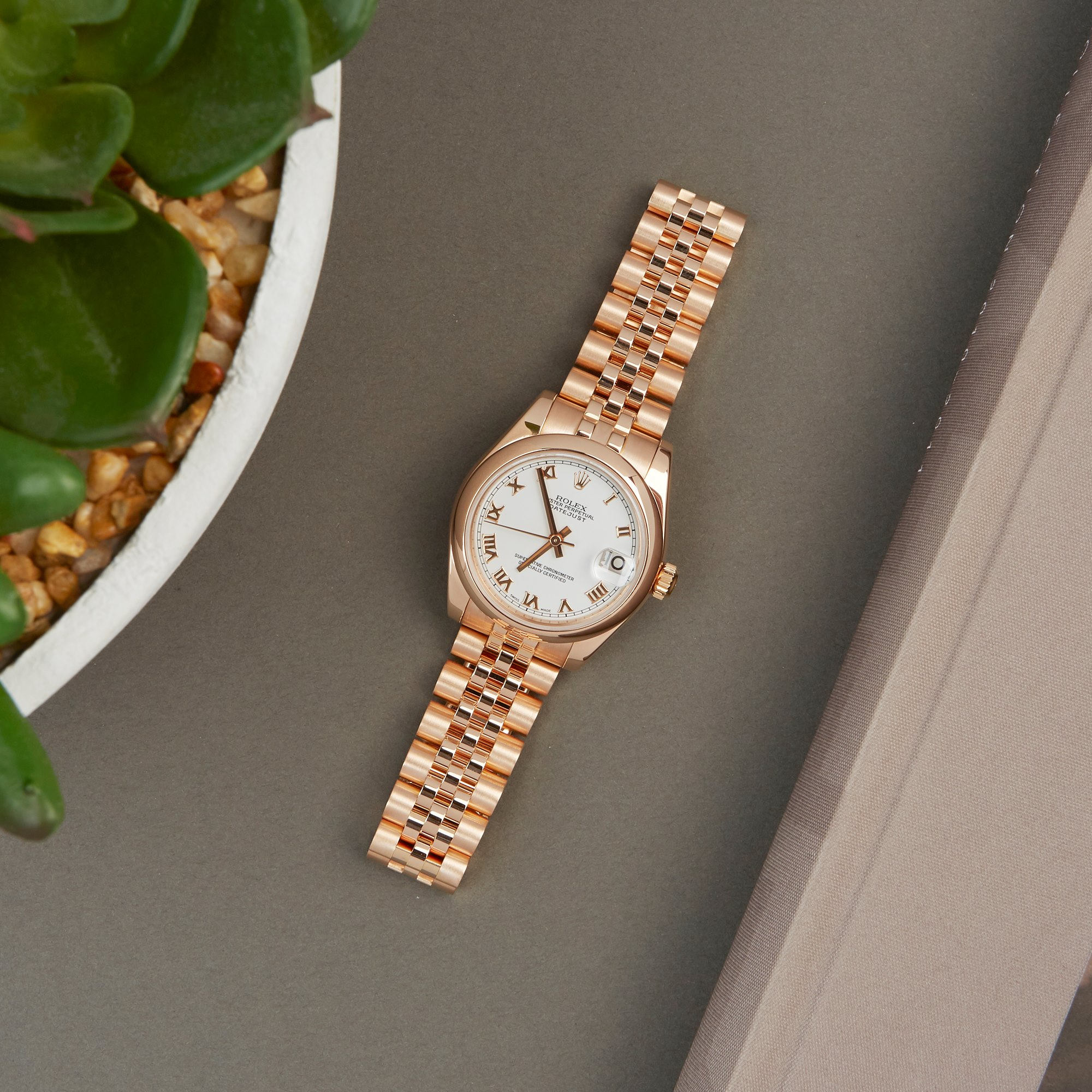Rolex Datejust 31 18K Rose Gold 178245