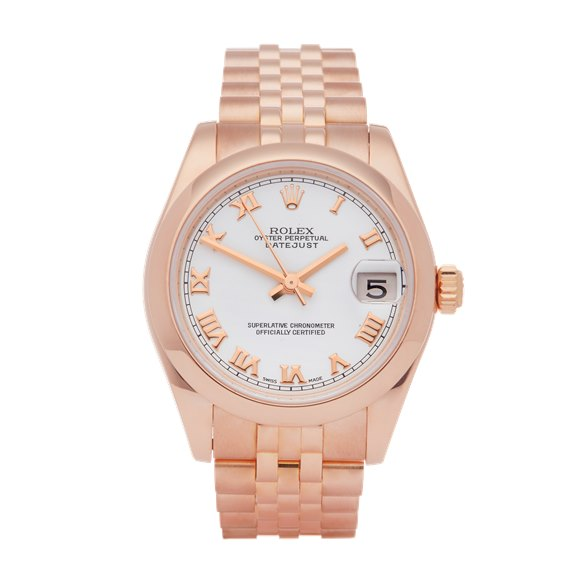 Rolex Datejust 31 18K Rose Gold - 178245