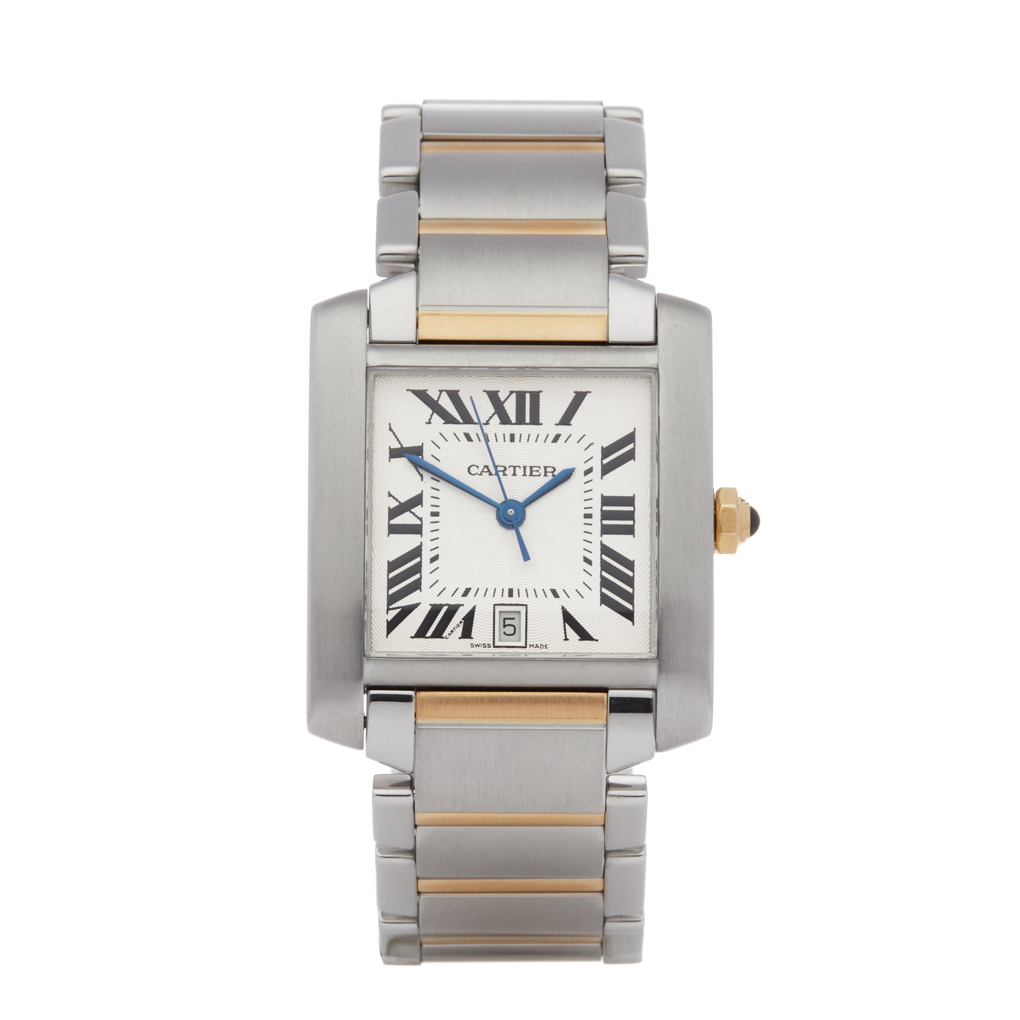 Cartier Tank Francaise Stainless Steel 2302