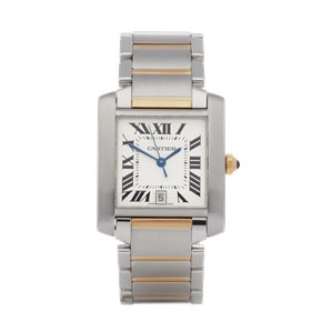 Cartier  Francaise Roestvrij Staal