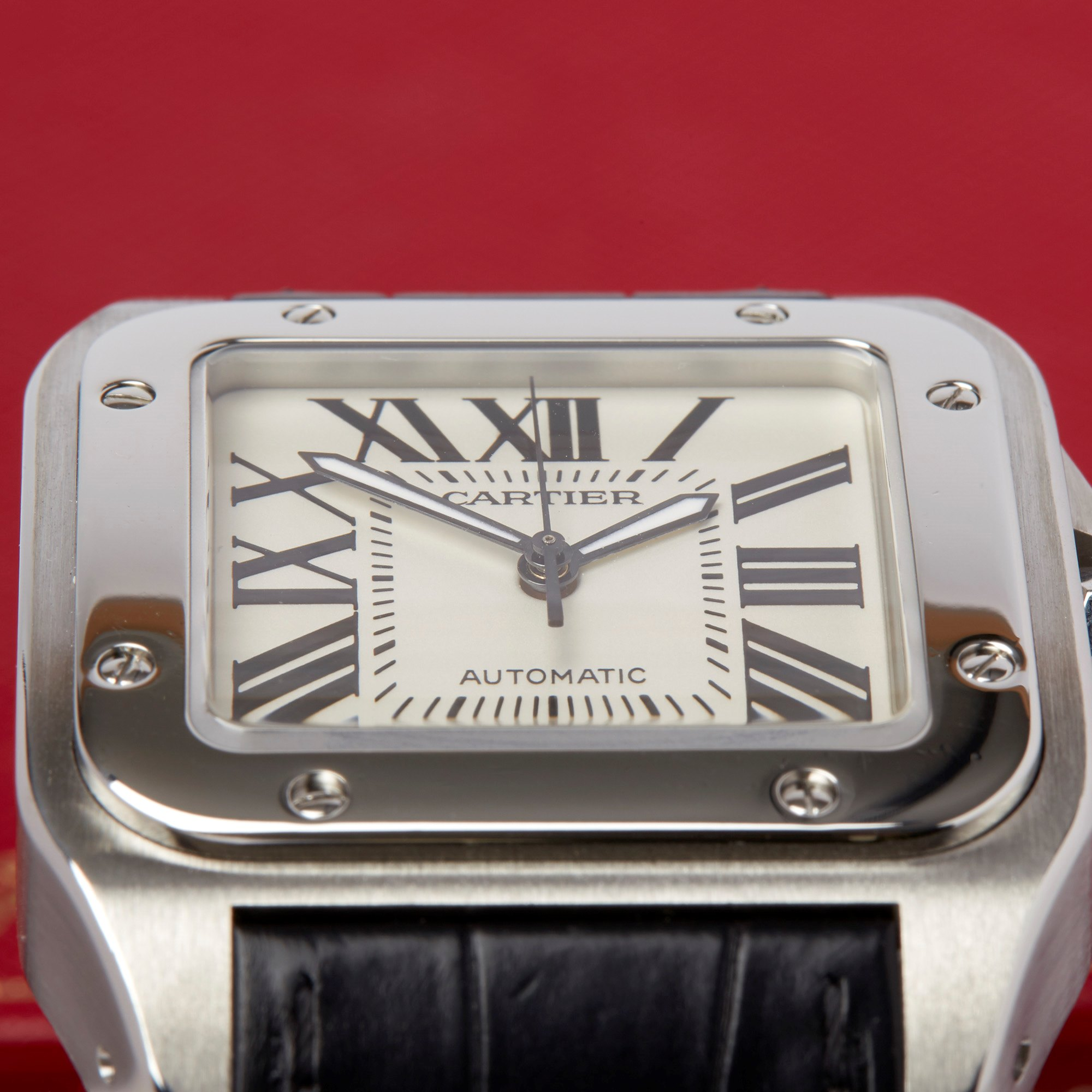 Cartier Santos 100 Chronograph XL Cartier Service Stainless Steel W20090X8 or 2656