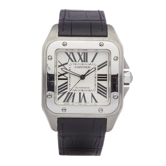 Cartier Santos 100 Stainless Steel - 2656