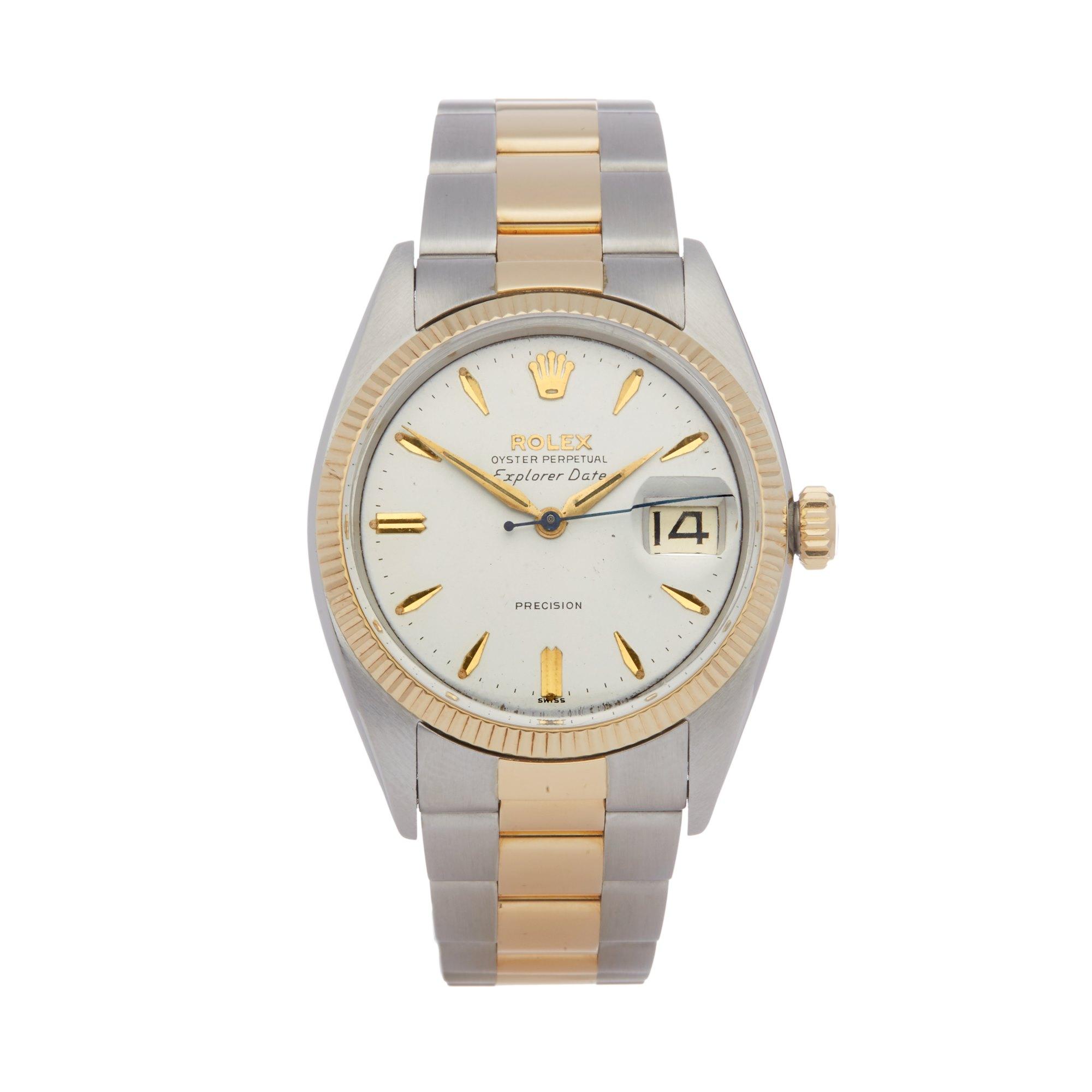 Rolex Date Roestvrij Staal & Geel Goud Roestvrij Staal & Geel Goud 5701