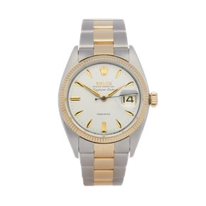 Rolex Explorer I Stainless Steel & Yellow Gold - 5701