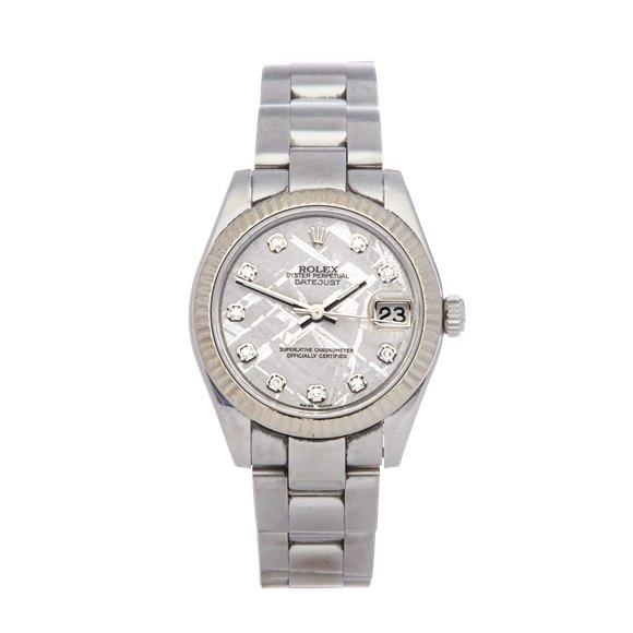 Rolex Datejust 31 Diamond Stainless Steel - 178274