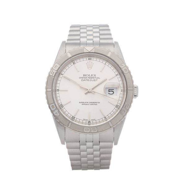 Rolex Datejust 36 Turn o Graph Stainless Steel - 16264