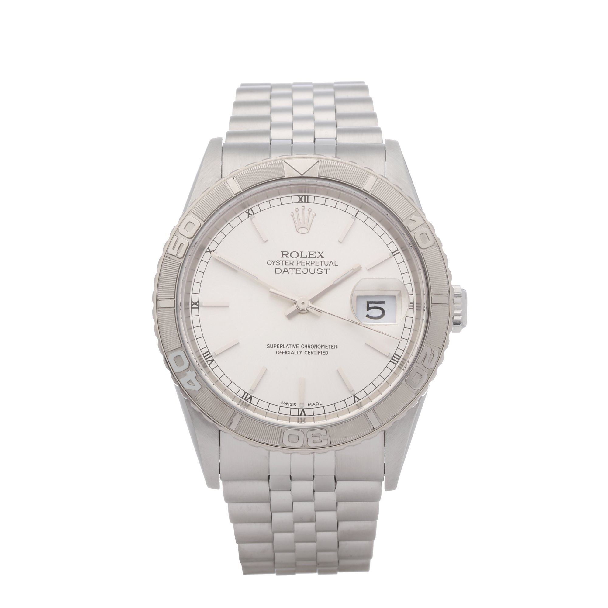 Rolex Datejust 36 Turn o Graph Stainless Steel 16264