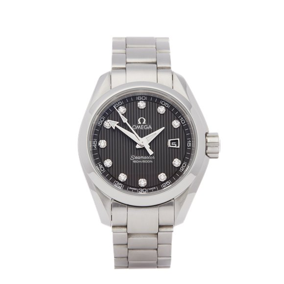 Omega Seamaster Diamond Stainless Steel - 231.10.30.61.56.001