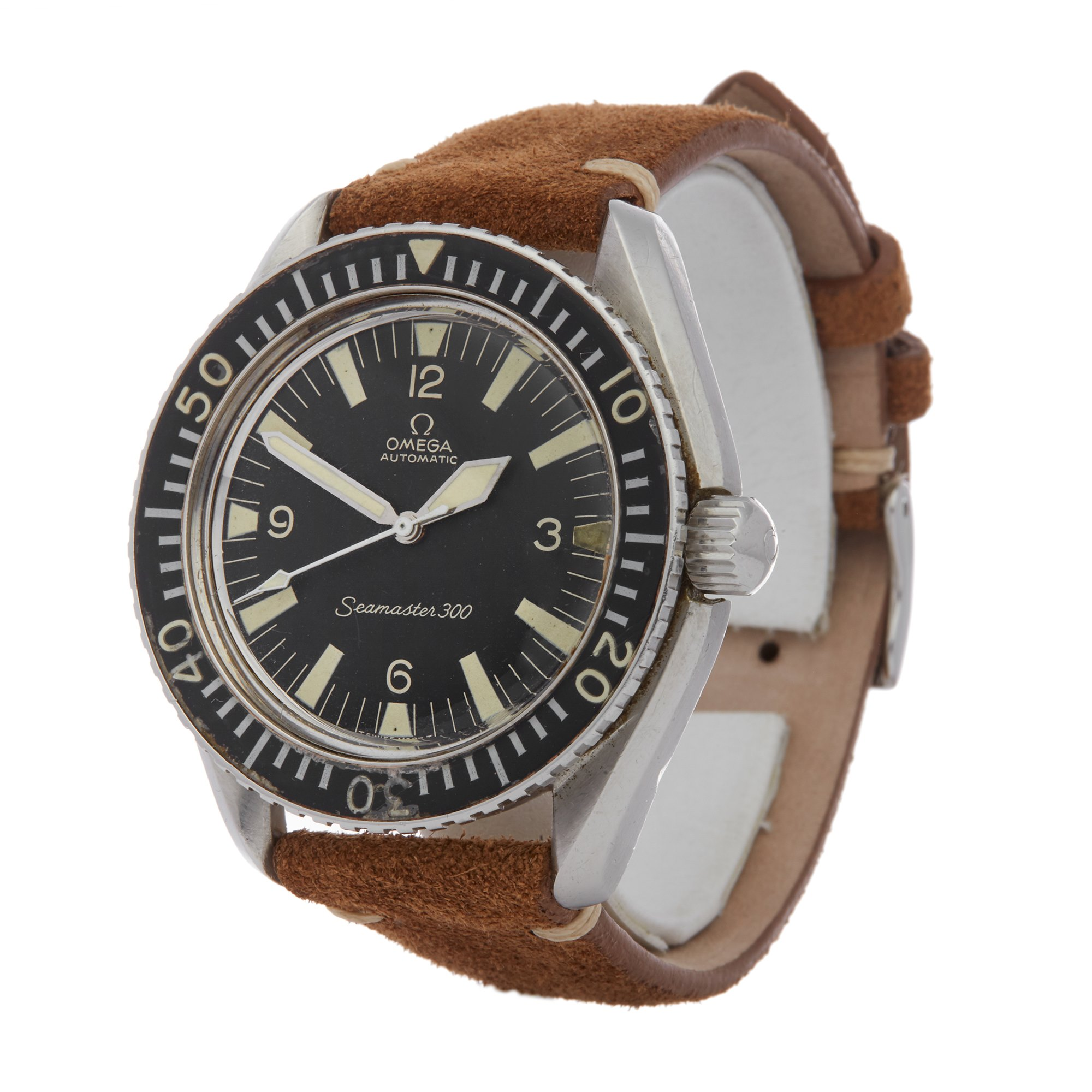 Omega Seamaster 300 Arrow Hands Stainless Steel 165.024