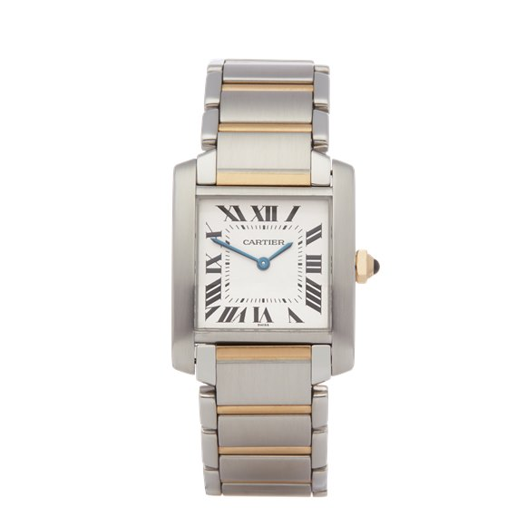 Cartier Tank Francaise Stainless Steel & Yellow Gold - 2301