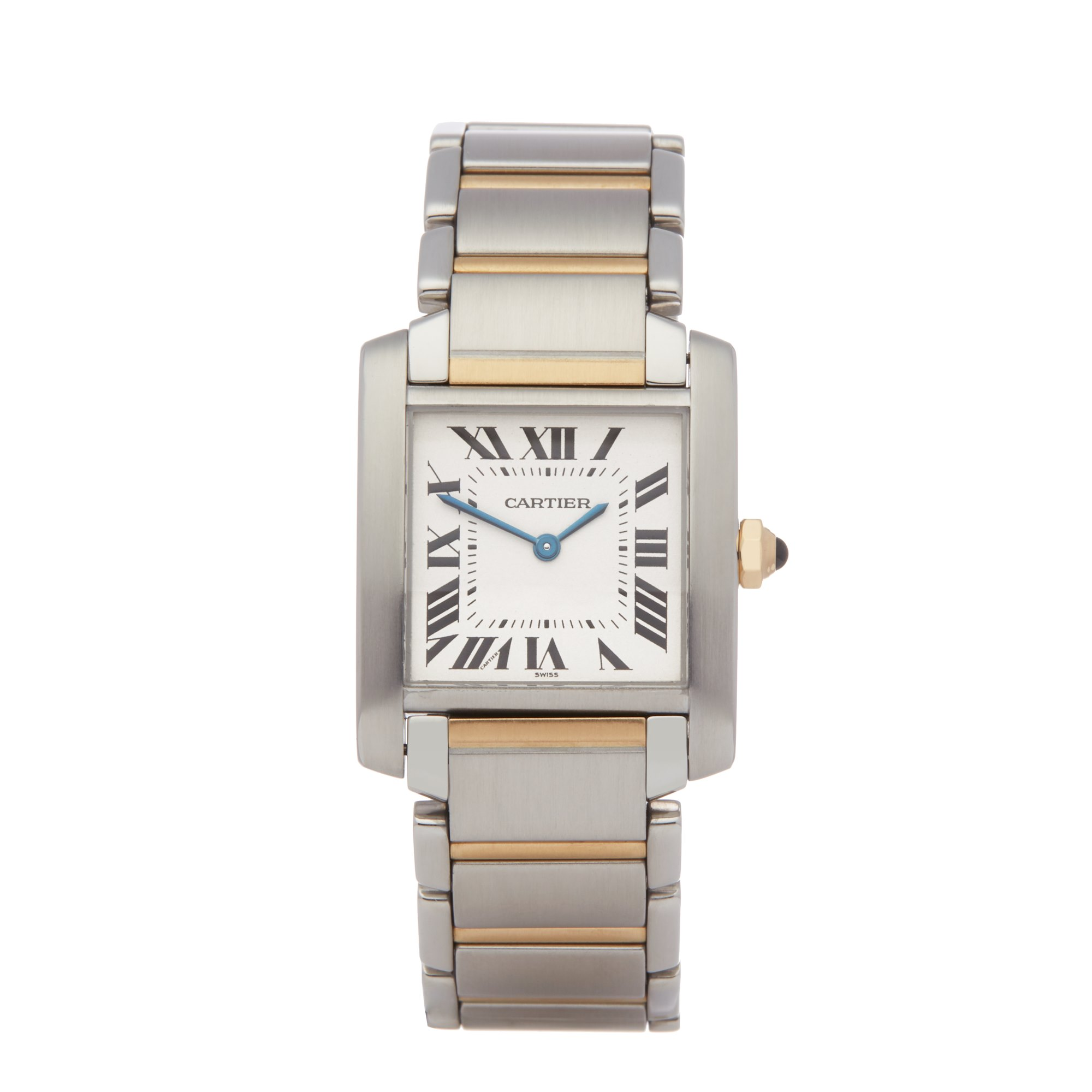 Cartier Tank Francaise Stainless Steel & Yellow Gold 2301