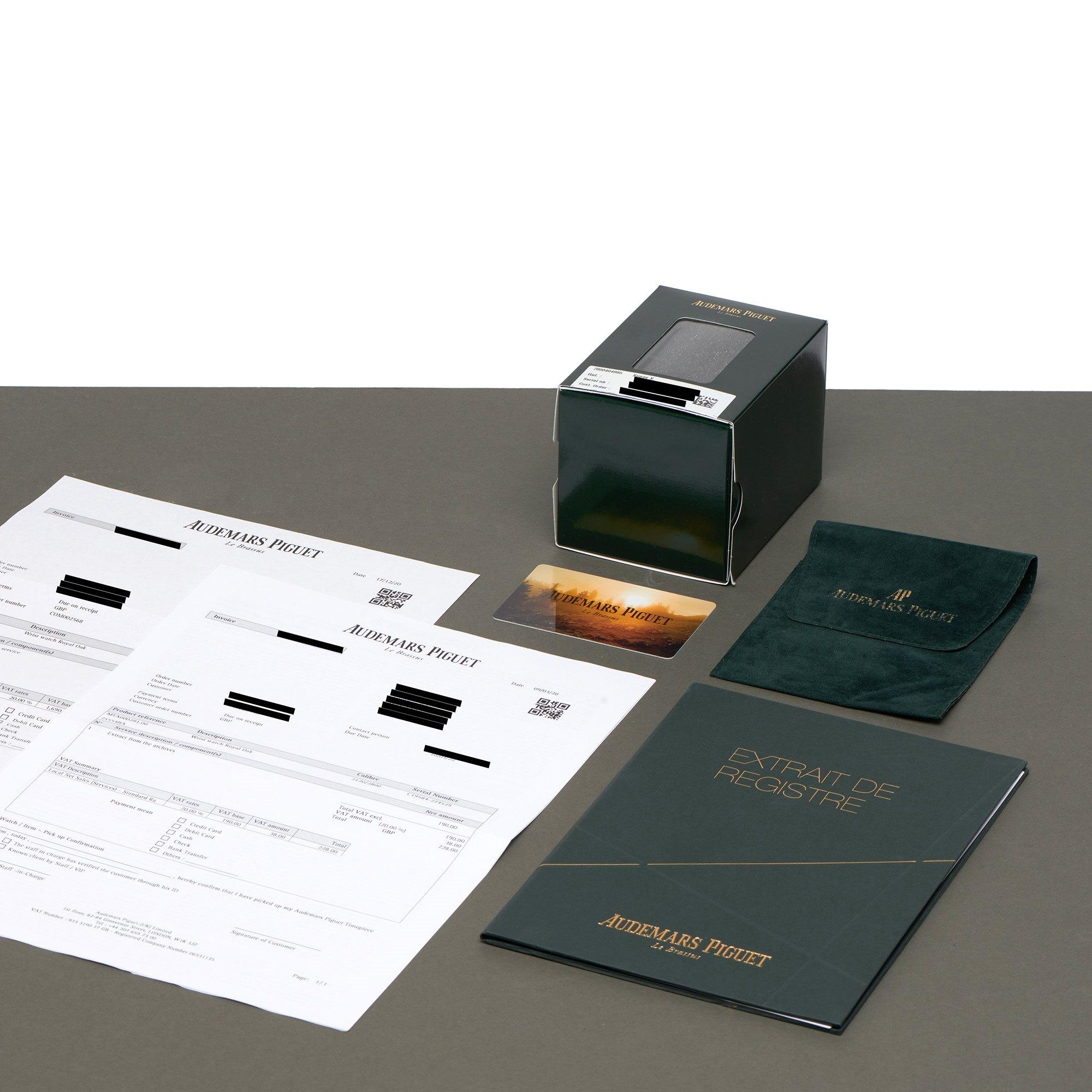 Audemars Piguet Royal Oak Perpetual Calendar MKI Dial 18K Yellow Gold - 25554BA Yellow Gold 25554BA